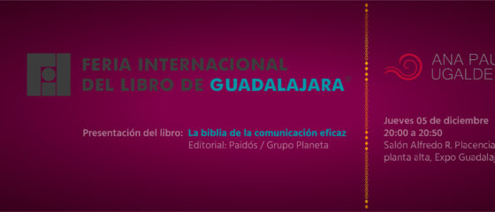 Ana Paula FIL Twitter cabecera