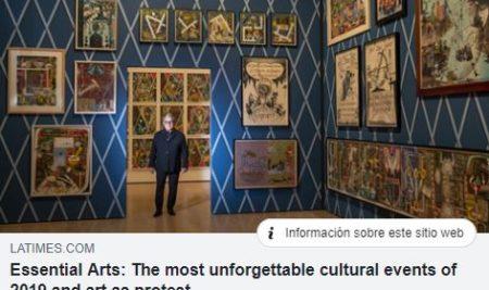 #Mediateca | Arte y eventos culturales que fueron noticia en 2019
