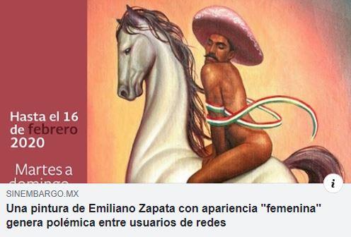 Zapata en caballo